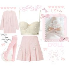 ♡ Fall Doll ♡ by kaylalovesowls on Polyvore featuring By Malene Birger, Emilia Wickstead and Gossard