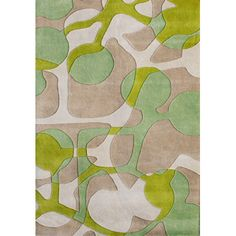 Wildon Home ® Corey Hand Tufted Green Area Rug U0026 Reviews | Wayfair