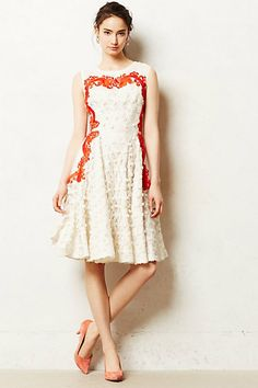 Aster Flared Dress #anthropologie #anthrofave