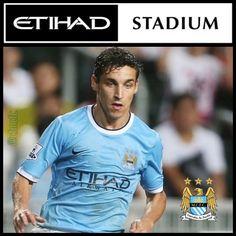 Jesus Navas Etihad Stadium wallpaper Manchester City FC