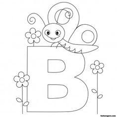 26 Best Animal Alphabet Images On Pinterest Appliques Alphabet - Animal-alphabet-coloring-pages