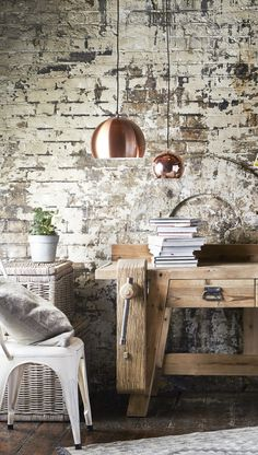 I LOVE Barker and Stonehouse. Amazing shop, great for Vintage items. @ Copper Pendants from Barker and Stonehouse. Industrial Light Fixtures, Industrial Lighting, Cool Lighting, Industrial Style, Kitchens Of Distinction, Copper Room, Cool Lamps, Cute House, Decoration