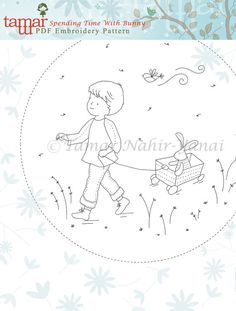 Embroidery Pattern Instant Download Spending por TamarNahirYanai
