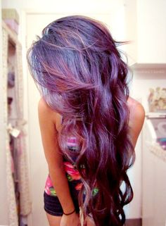 indigo/purple hair!!! love