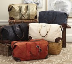'Union Canvas Weekender Bag' on Giftry
