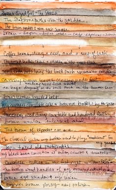 stripes as journal lines...