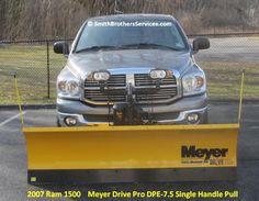 "2007 Dodge Ram 1500 Meyer Drive Pro 7' 6"" Single Pull"