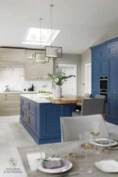 Style and substance. Featuring a superb quality painted finish with visible woodgrain, you can combine any number of colours. Dream Kitchen, House, Home, Kitchen Trends, Wood Grain, Kitchen Decor, Traditional Kitchen, Paint Finishes, Kitchen Design