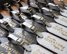 Bulk Wedding Favors Luggage Tags Unique Gifts, Bridesmaid Gift, Save the Date, or Bridal Party Shower – And So the Adventure Begins Travel 2020 – Gastgeschenke Hochzeit 2020 Wedding Gifts For Guests, Beach Wedding Favors, Wedding Favors For Guests, Unique Wedding Favors, Bridal Shower Favors, Bridal Showers, Party Favours, Elegant Wedding, Wedding Shoes