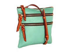 This distinct Dooney & Bourke™ crossbody sets your look off the style charts with its trendy, versatile ways!  http://www.zappos.com/product/8110686/color/18170