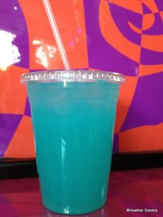 Cotton candy lemonade... blue for a boy baby shower??
