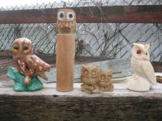 Owl family!  Like it?  Get it here!  http://www.etsy.com/listing/84489912/vintage-owl-familyinstant-owl-collection