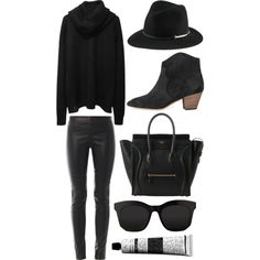 A fashion look from October 2014 featuring Acne Studios, Joseph leggings and Isabel Marant ankle booties. Browse and shop related looks.