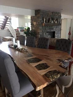 Shipping Furniture From Usa To Australia Live Edge Furniture, Resin Furniture, Custom Furniture, Wood Slab Dining Table, Dining Room Table, Live Edge Table, Live Edge Wood, Resin Table, Lounge