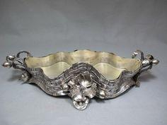 Art Nouveau WMF style silver-plated centerpiece : Lot 315