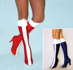 Wonder Woman Boots. Traditional or New 52. by SavillaCreations, $39.99