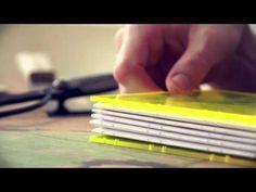 DIY Bookbinding // sisterMAG - YouTube