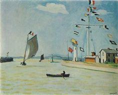 Albert Marquet - Port à Honfleur (1911)