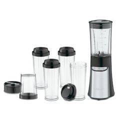 Get this portable blender/chopper. IT's small and travels well.  Always have fresh juices, shakes or guacamole wherever you are.  Comes with BPA free cups too.