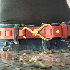 Beautiful photo of our Hoof Pick Belt
