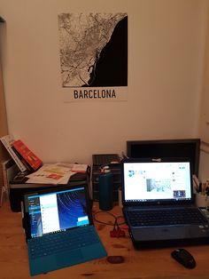 Just as beautiful from above: modernmapart.com presents Barcelona - http://bcn4u.com/just-as-beautiful-from-above-modernmapart-com-presents-barcelona/