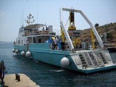 la nave oceanografica Hercules