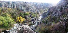 Актовский каньон, место силы