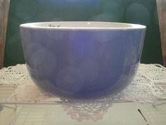 "Hall China ""Rose Parade"" 1945 Blue Bowl by Etsy.Nana always used this bowl Hall Pottery, China Rose, Blue Bowl, Homer Laughlin, Shabby Cottage, Grandparents, Vintage Kitchen, Bowls, Tea Pots"