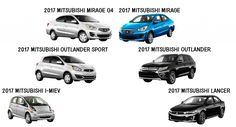 Whether you like crossovers, sedans, or EVs, Mitsubishi has the 2017 model for you! #Mitsubishi #Cars #EV