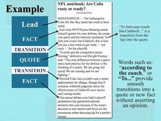 Smooth Transitions in Expository Writing: Common Core Expository News Writing Tutorial & Activities...