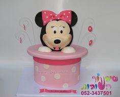 3d mini mouse cake by cakes-mania עוגת מיני מאוס בתלת מימד מאת שיגעון העוגות - www.cakes-mania.com