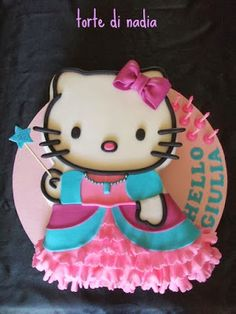 Pasteles de Cumpleaños de Hello Kitty