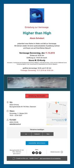 "Einladung ""Higher than High"" Group, Artist, Invitations, Amen, Artists"