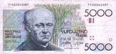 Guido Gezelle (5000 francs)