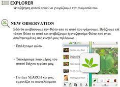 Παρουσίαση Εφαρμογής Pl@ntNet - Melissokomia Net
