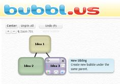 To understand a structure of a subject or to solve out the problems, dividing it into various parts will make the work easier. So Mind mapping will help you to understand and solve out the problems much better. Usually a mind map is a diagram which consist of words, ideas and task arranged in different groups and shapes around the main concept of the idea.  https://bubbl.us/
