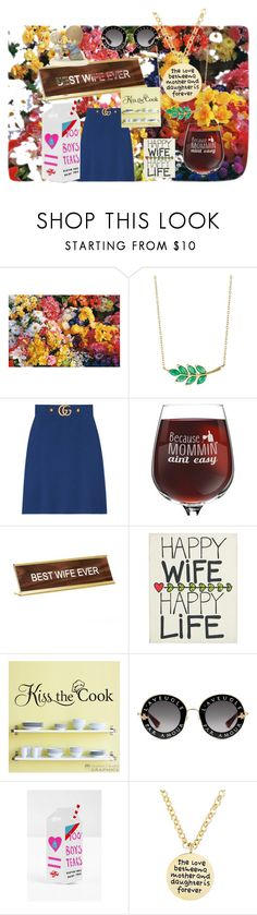 """Life is a garden"" by blumbeeno ❤ liked on Polyvore featuring Finn, Gucci, He Said, She Said, Glory Haus, Valfré, Mia Sarine and Precious Moments"