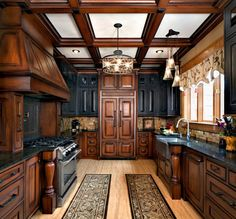 Cabinet Works - Mediterranean - Kitchen - Signature Kitchens & Baths Magazine
