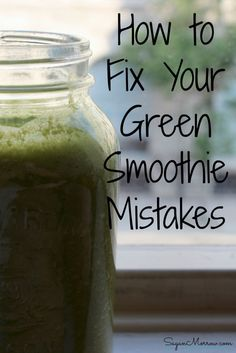 Are you making these common green smoothie mistakes? Find out how to fix your green smoothie mistakes to create the best green smoothies ever! Green Detox Smoothie, Smoothie Blender, Smoothie Cleanse, Green Smoothie Recipes, Healthy Smoothies, Healthy Drinks, Green Smoothies, Juice Cleanse, Healthy Food