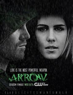 Love is the most powerful weapon. #Arrow #Olicity