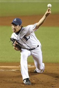 Yuusei Kikuchi goes the distance, hurls 8 1/3 innings of 1-run ball with striking out 5 batters as Lions top Hawks 2-1 at Seibu Dome on Wednesday, September 5, 2012.