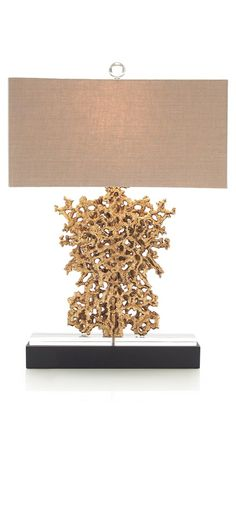 Table Lamps, Luxury Designer Gold Seam Formation Gilded Lamp, so beautiful!!!