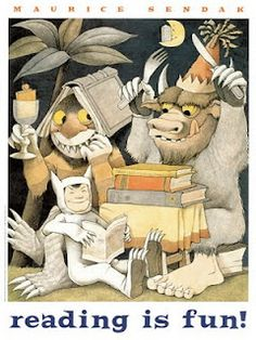 Where the Wild Things Are..Maurice Sendak.