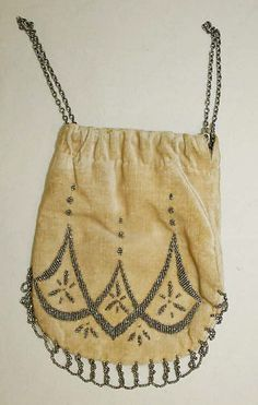 Purse 1863, American, Made of silk