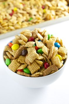 Caramel Chex Mix - Stuck On Sweet