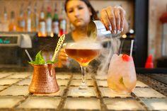 Three Eight Four Brixton cocktails