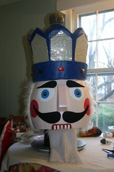 ballet dancer wearing nutcracker mask - Google Search