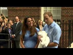 Kate Middleton Leaves Hospital With Royal Baby & Prince William - YouTube