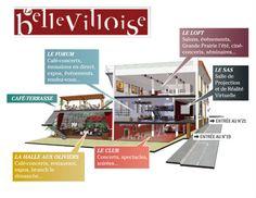 La Bellevilloise: restaurante, conciertos, exposiciones y terraza   DolceCity.com