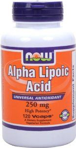 NOW Supplements, Alpha Lipoic Acid 250 mg, Supports Glutathione Production*, Free Radical Scavenger*, 120 Veg Capsules Antioxidant Supplements, Anti Aging Supplements, Healthy Blood Pressure, Diabetic Neuropathy, Alpha Lipoic Acid, Mega Pack, Insulin Resistance, Diabetes Treatment, Health And Nutrition